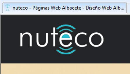 favicon - nuteco diseño web albacete