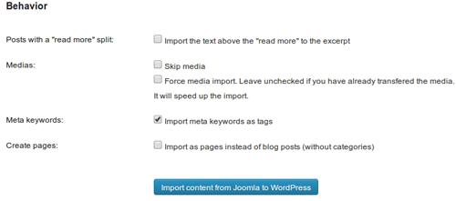 Migrar web de Joomla a WordPress - diseño web albacete