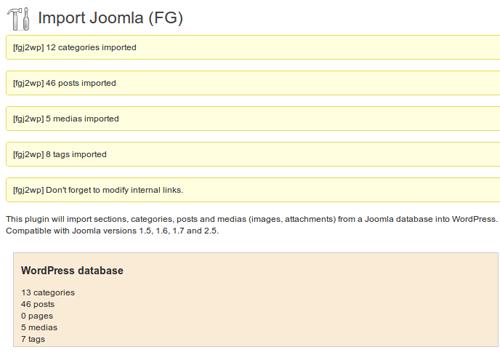 Como migrar página web en Joomla a WordPress