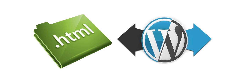 Importar contenido HTML a Wordpress
