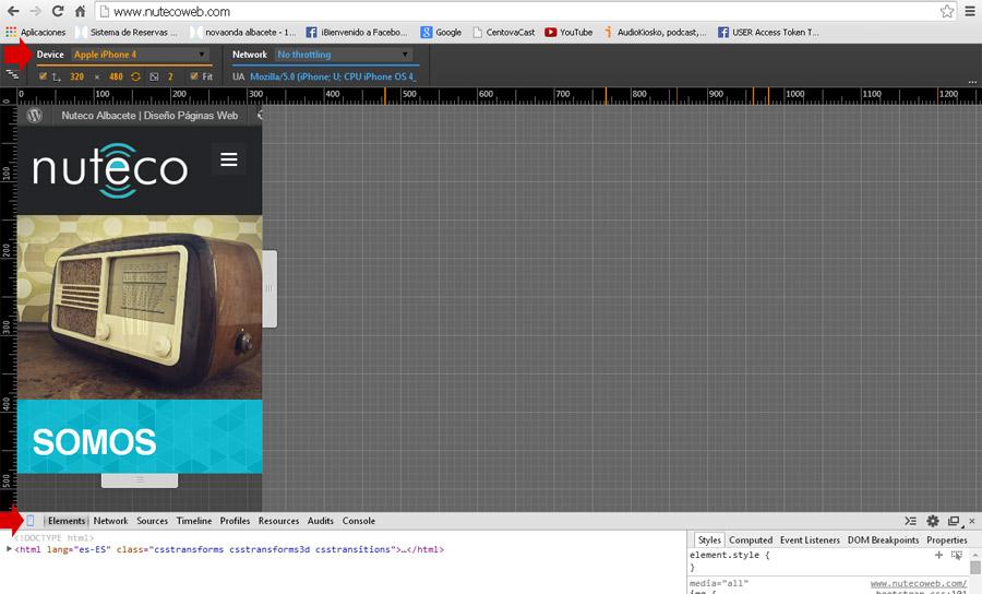 web responsiva albacete