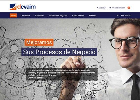 Devaim | Soluciones Tecnologicas | Desarrollo y mantenimiento web
