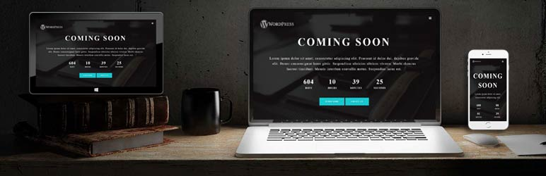 Plugin wordpress Coming soon | Diseño web