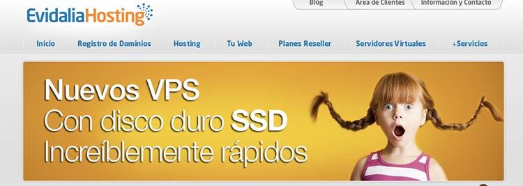 Servidores VPS Evidalia | Hosting Web