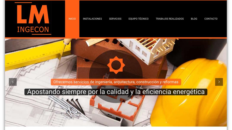 Nueva web LM INGECON