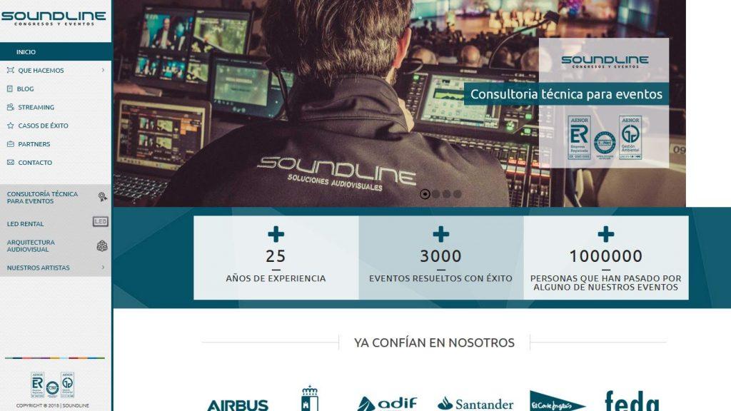 empresa de audiovisuales en albacete soundline