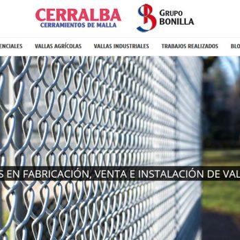 Estrategia de marketing digital y SEO para Cerralba Albacete